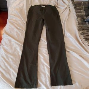 Army green Columbia pants